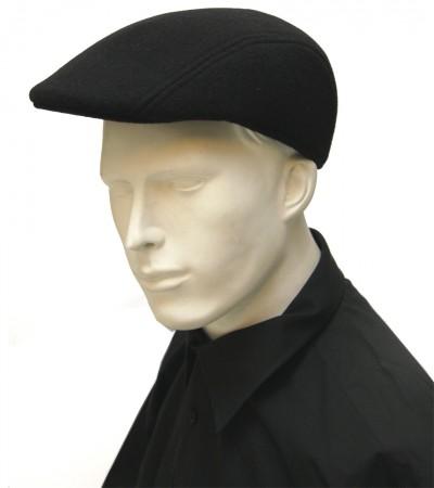 Férfi gyapjú golf sapka - Fekete KALAP 45012979d8