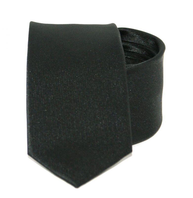 Goldenland slim nyakkendő - Fekete