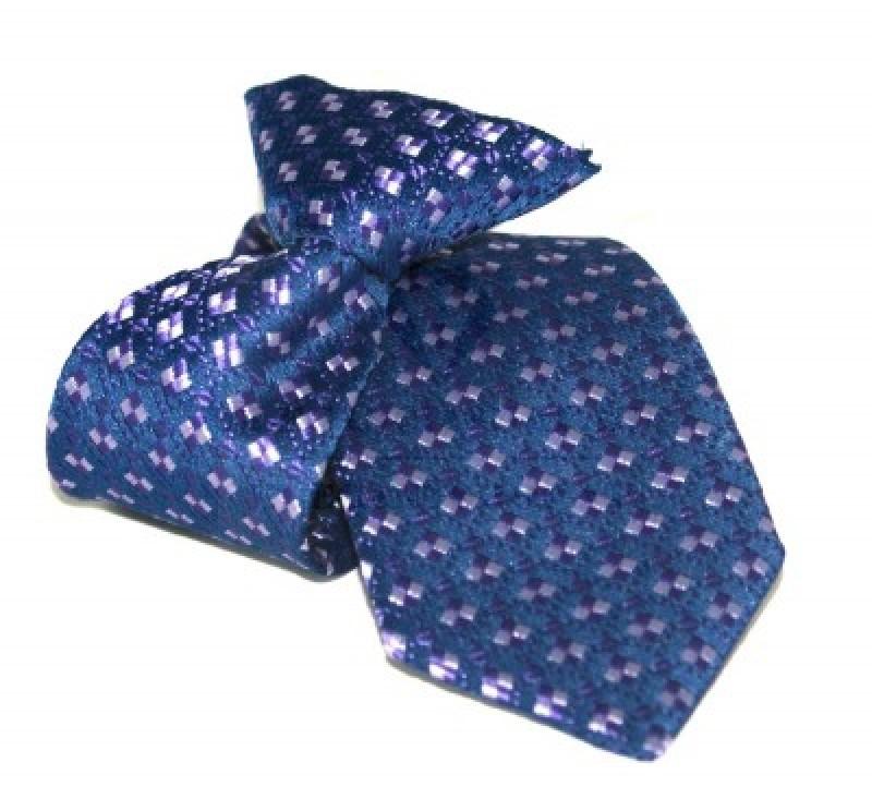 Gumis gyereknyakkendő (mini)  - Kék mintás