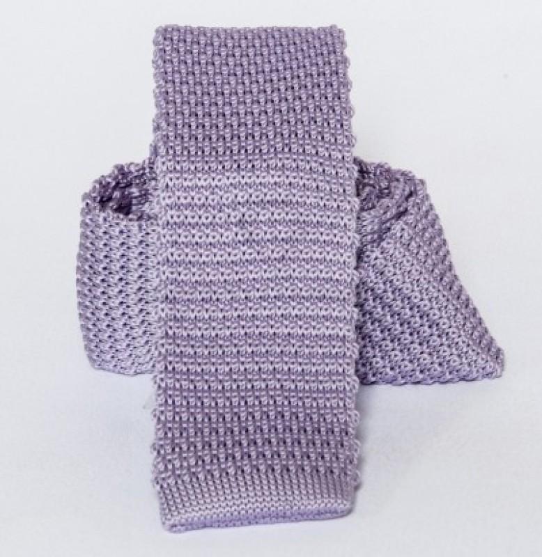 Prémium kötött nyakkendő - Lila