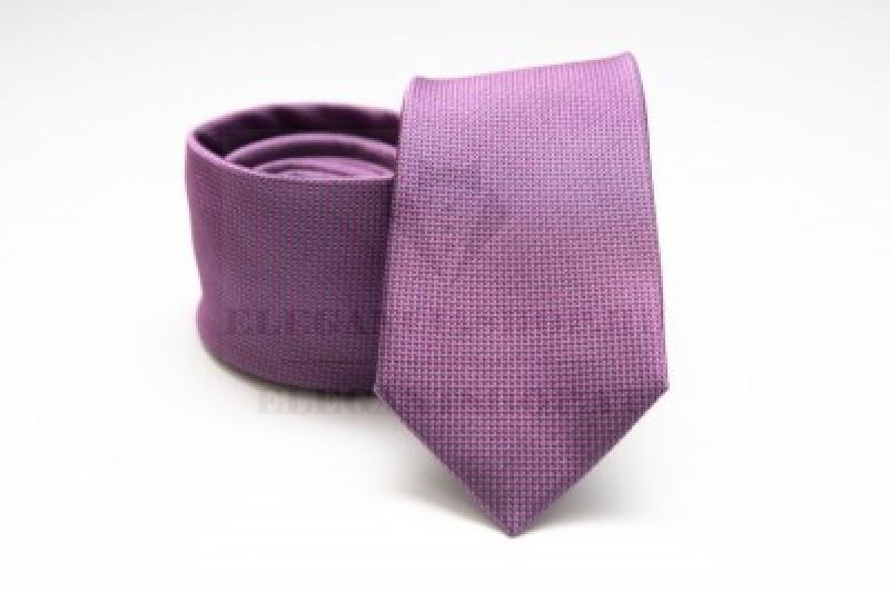 Prémium selyem nyakkendő - Lila Selyem nyakkendők