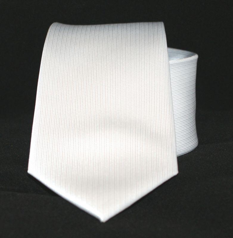 Goldenland nyakkendő - Fehér Egyszínű nyakkendő