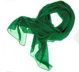 Női muszlin kendő - Zöld