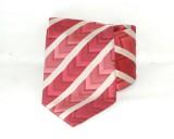 Saint Michael selyem nyakkendő - Piros csÍkos