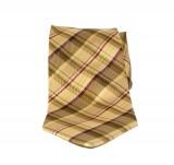 Saint Michael selyem nyakkendő - Sárga kockás