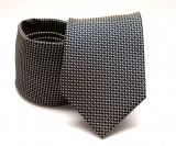 Prémium nyakkendő -  Fekete kockás