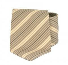Goldenland nyakkendő - Világosbarna csíkos