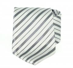 c58b908c65 Goldenland nyakkendő - Ezüst csíkos