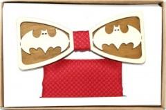 Fa csokornyakkendő szett - Batman Különlegesség