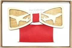 Fa csokornyakkendő szett - Repülő Különlegesség