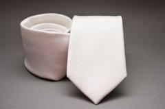Prémium selyem nyakkendő - Fehér