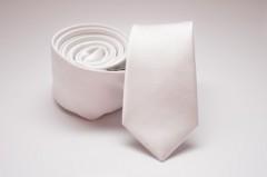 Prémium slim nyakkendő - Fehér