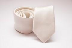 Prémium slim nyakkendő - Ecru