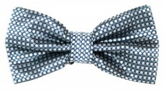 Goldenland csokornyakkendő - Kék-szürke pöttyös