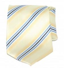 Goldenland nyakkendő - Sárga-kék csíkos