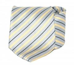 Goldenland nyakkendő - Ezüst-sárga csíkos