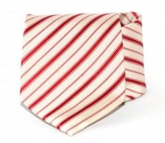 Goldenland nyakkendő - Púder-piros csíkos