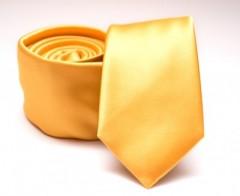 Prémium slim nyakkendő - Sárga