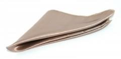 Zsorzsett szatén díszzsebkendő - Arany