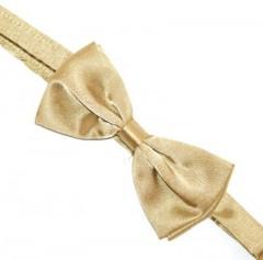 Szatén csokornyakkendő - Óarany