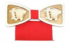 Fa csokornyakkendő szett - Harmonika Különlegesség