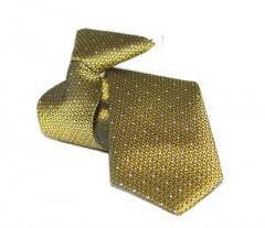 Gumis gyereknyakkendő  (mini)- Arany mintás Gyerek nyakkendők