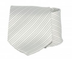 Goldenland nyakkendő - Fehér-szürke csíkos