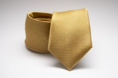 Prémium selyem nyakkendő - Aranysárga