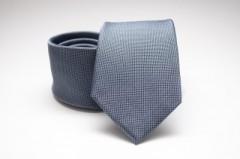 Prémium selyem nyakkendő - Szürkéskék