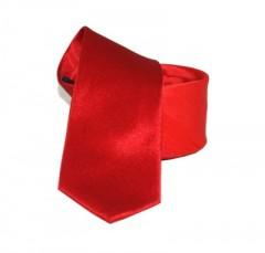 Goldenland slim nyakkendő - Piros csíkos
