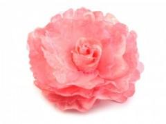 Rózsa kitűző - Korall