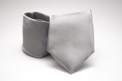 Prémium nyakkendő - Ezüst szatén