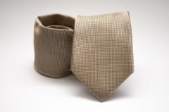Prémium nyakkendő - Arany aprókockás Kockás nyakkendők