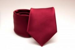 Prémium nyakkendő - Meggybordó