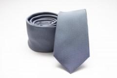 Prémium slim nyakkendő - Szürkéskék
