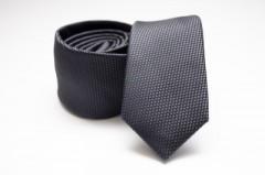 Prémium slim nyakkendő - Sötétszürke