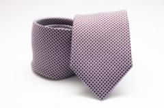Prémium selyem nyakkendő - Púder mintás