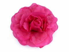 Rózsa kitűző - Pink