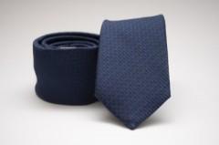 Prémium slim nyakkendő - Sötétkék