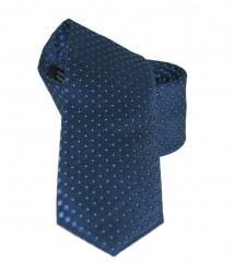 Goldenland slim nyakkendő - Kék aprópöttyös