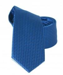 Goldenland slim nyakkendő - Kék mintás