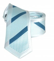 Goldenland slim nyakkendő - Menta csíkos