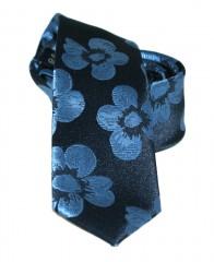 a236aa614b Goldenland slim nyakkendő - Kék virágos