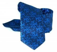 Zsorzsett szatén szett - Királykék mintás Mintás nyakkendők