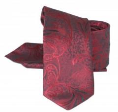 Zsorzsett szatén szett - Bordó mintás Mintás nyakkendők