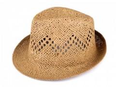 Nyári szalma kalap - Barna