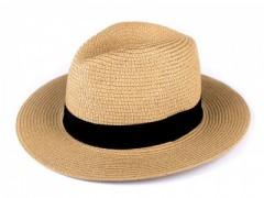 Nyári szalma kalap - Drapp