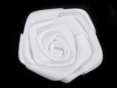Rózsa kitűző 10 db/csomag - Fehér Női kiegészítők
