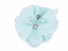 Textil virág - Világosmenta