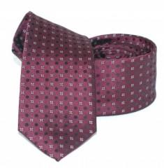 Goldenland slim nyakkendő - Padlizsán pöttyös